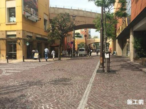 川崎チネチッタ通りの舗装改修が完成