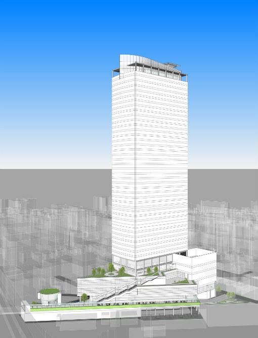 横浜駅きた西口鶴屋地区市街地再開発組合設立認可