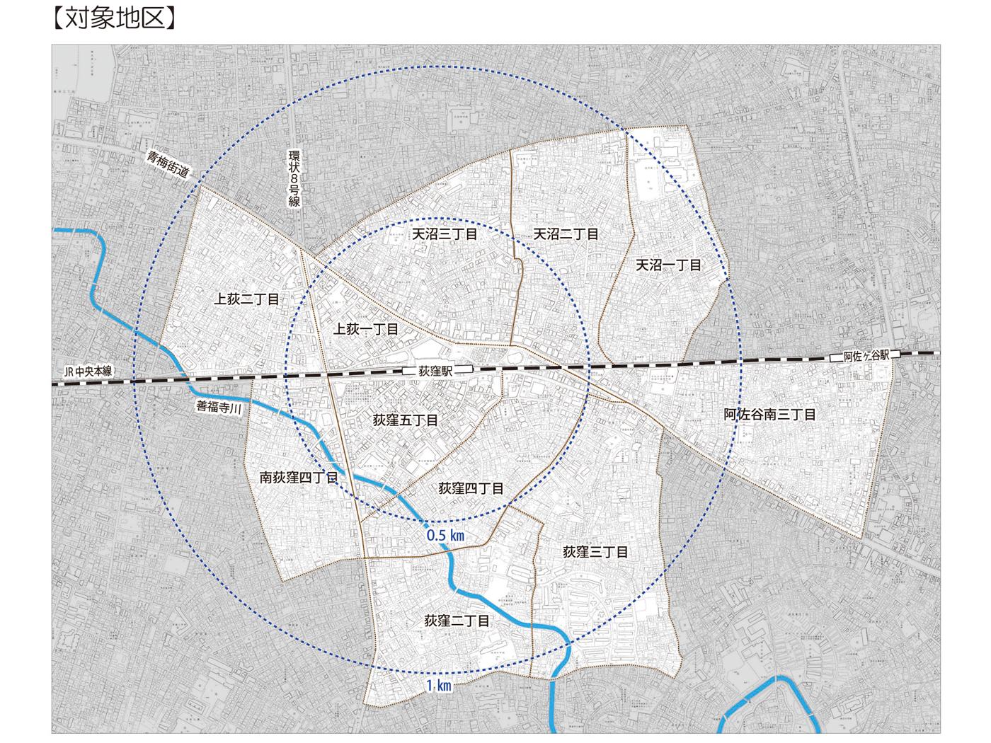 荻窪駅周辺まちづくり調査