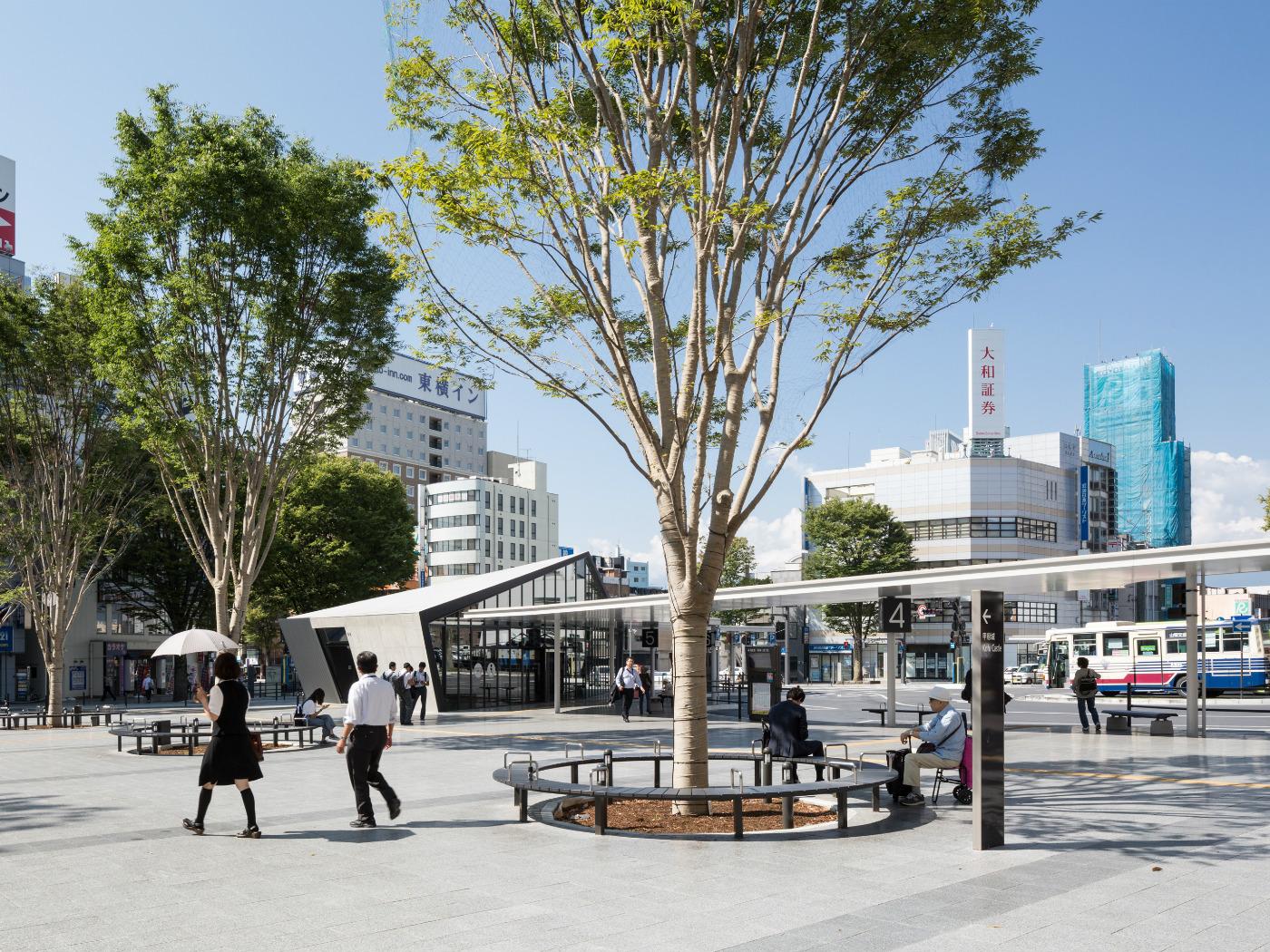 甲府駅南口周辺地域修景計画