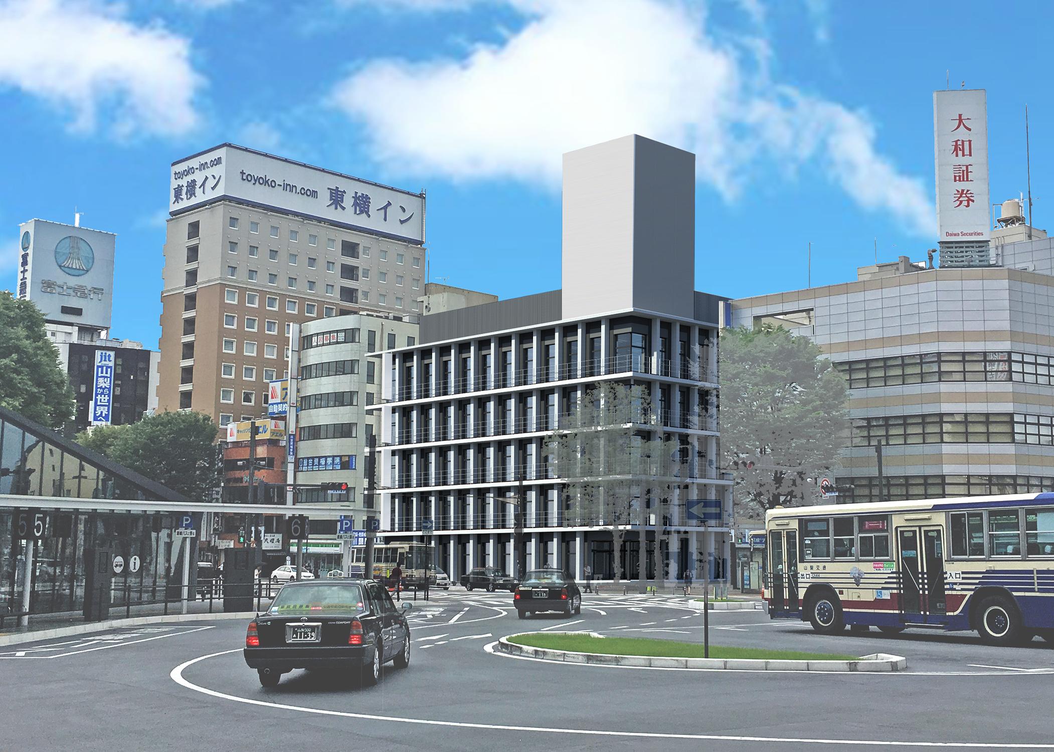 (仮称)甲府駅南口計画新築工事の起工式を行いました