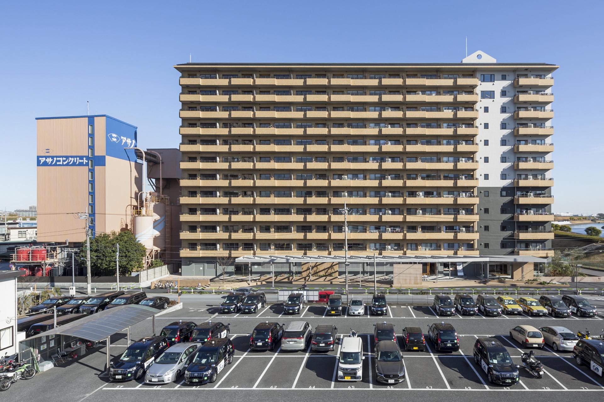リノベーションプロジェクト・リノア北赤羽竣工・新建築2月号に掲載